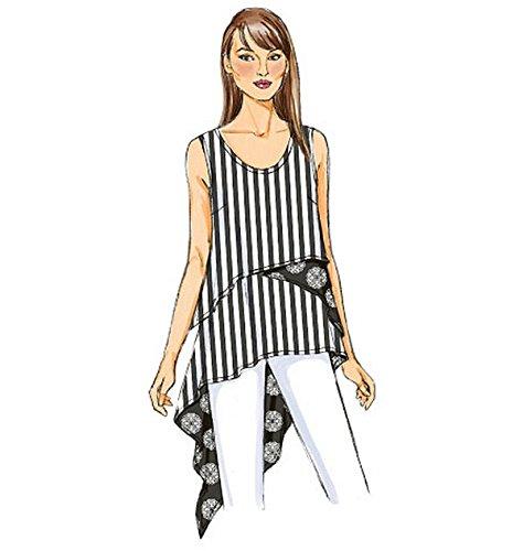 Butterick B6172 Costura para Confeccionar Blusas, Trajes, Vestidos, Moda, BTK 6172 E5 (14-22) Deu. Gr. 40-48: Amazon.es