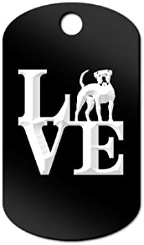 Mister Petlife Love American Bulldog Sticker Vinyl Auto Window park bully