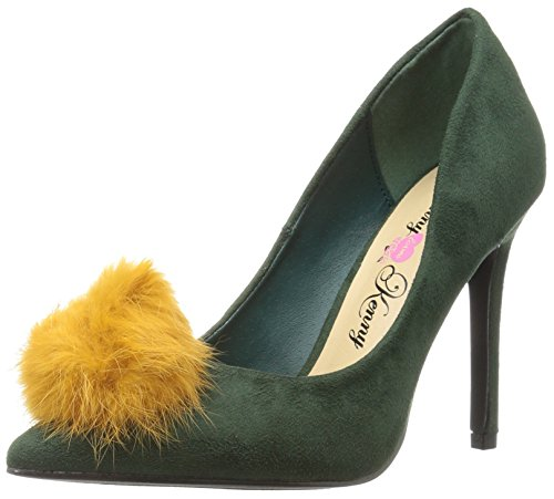 - Penny Loves Kenny Women's Manner Pump, Emerald Green Micro Suede, 12 W US