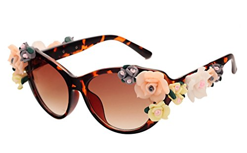 Retro Baroque Holograms Rose Sunglasses For - Wiki Bans Ray