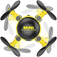 Inverlee 2.4GHz 4CH 6-Axis Gyro 3D UFO FPV RC KY901 Mini Wifi Camera Drone RC Quadcopter (Yellow)