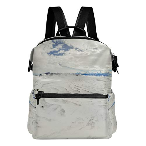 Backpack Casual Daypack The Giant Ripples Of Glacial Lake Missoula Camas Prairie Rucksack School Bag for Boy Girls