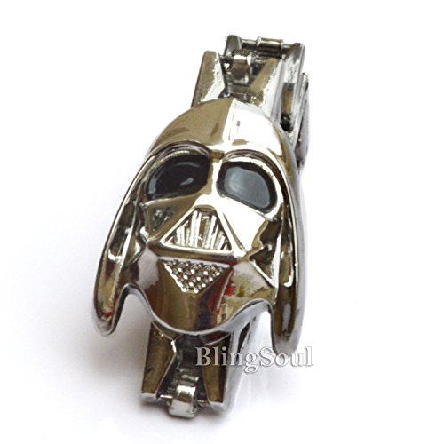Captain Reynolds Costume (Darth Vader Bracelet Jewelry Merchandise – Star Wars Halloween Cosplay Costume Prop)