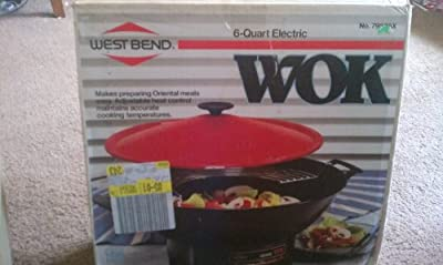 West Bend Electric Wok 79525x