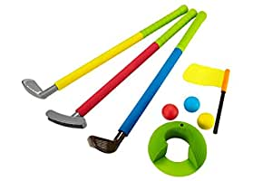 Amazon.com: Uarzt Soft Foam Glof Sets Toys for Kids Childrens Toddler Indoor/Outdoor,Easy hit