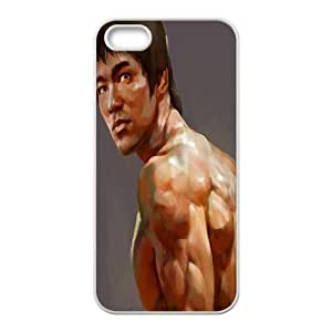 DDOUGS I Bruce lee Quote Best Cell Phone Case for Iphone 5,5S, Custom I Bruce lee Quote Case