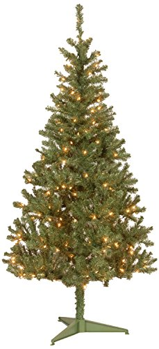 Canadian Fir Grande Christmas Tree 6' with 200 Clear Lights
