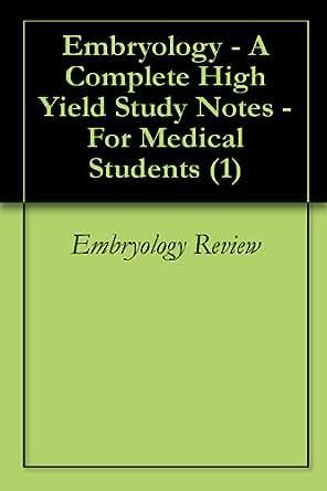 embryology for medical students pdf