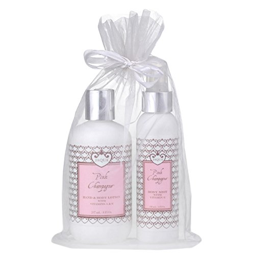 JAQUA - Pink Champagne Luscious Gift Set (Frosting Shower Pink Buttercream)