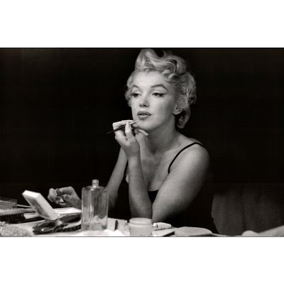 Marilyn Monroe Poster Mirror and Lipstick