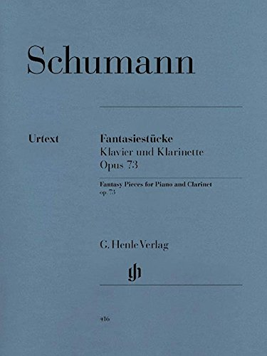 Robert Schumann Fantasy Pieces - Schumann: Fantasy Pieces, Op. 73