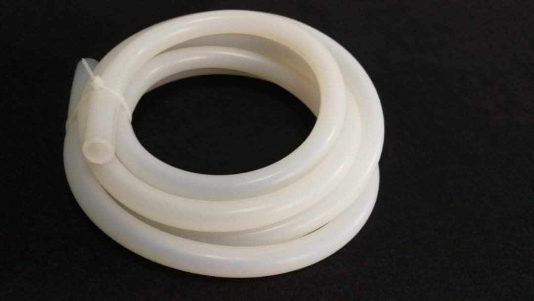 TEN-HIGH Tube en Silicone Flexible /épaisseur de 2,0 mm Tuyau deau air de 2 m/ètre 8 * 12 mm Anti-vieillissement R/ésistance aux haute et basse temp/ératures Haute r/ésistance /à la d/échirure