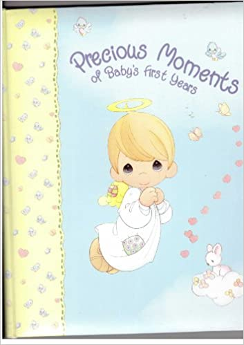 Precious Moments Of Baby S First Years Baby Memory Book Boy Angel Unknown Amazon Com Books