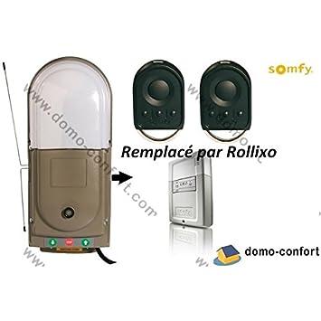SOMFY Motorisation Pour Porte De Garage Enroulable FREEROLL RTS - Moteur porte de garage enroulable somfy