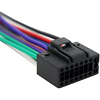 41NZfcSxgwL._SL500_AC_SS350_ amazon com jvc wire harness kd x31mbs kd x50bt kd x80bt kw jvc 16 pin wiring harness at gsmx.co