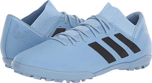 (adidas Men's Nemeziz Messi Tango 18.3 TF Ash Blue/Black/Raw Grey 11 D US D (M))
