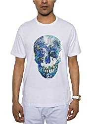 Men's Sequin Skull T-Shirt