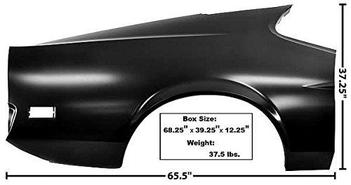 l Fastback Full RH 1971 - 1972 (Fastback Quarter Panel)