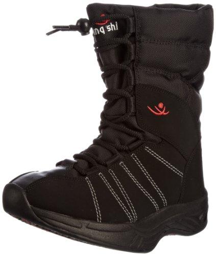 Chung -Shi Women's Eskimo Comfort Step Mid Calf Boot Black po1Di