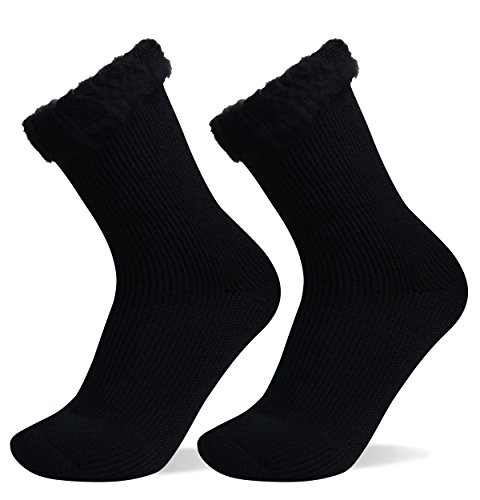 Well Knitting 2 Pairs Womens Extra Warm Comfortable Thick...