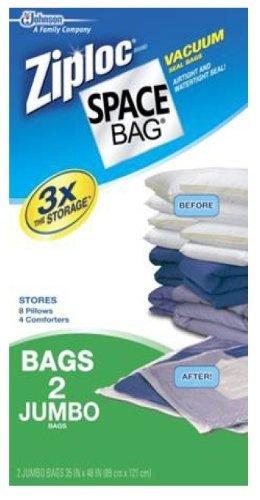 ziploc storage bags vacuum jumbo - 4