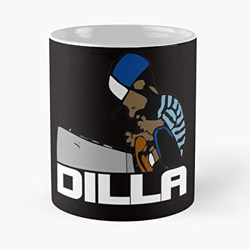 J Dilla Flying Lotus Jdilla - Best Gift Coffee Mugs 11 Oz Father Day