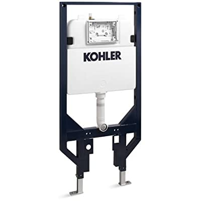 """KOHLER K-18829-NA 2"""" x 4"""" In-Wall Toilet Tank and Carrier System"""