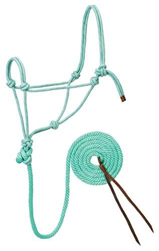 Weaver Leather Diamond Braid Rope Halter and Lead (Diamond Weaver)