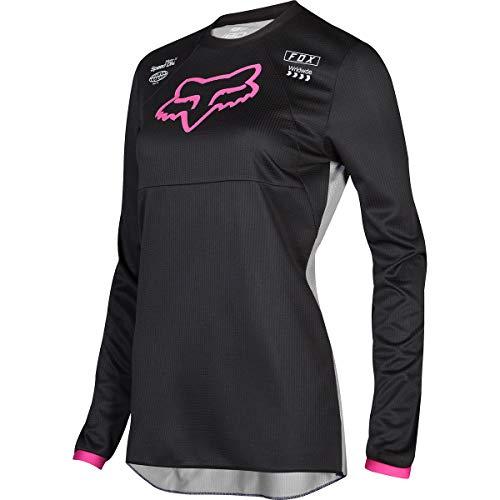Fox Racing 2019 Kids Girls 180 MATA Jersey-Black/Pink-KM ()