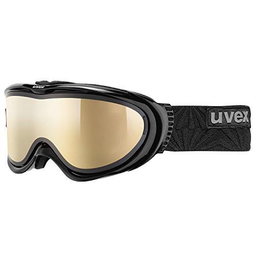 Uvex Comanche Top Masque de ski Black/Litemirror Gold