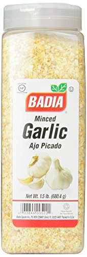 Badia Garlic Minced, 1.5 Pound