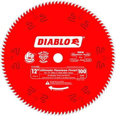 Freud D12100X Ultimate Polished Finish Circular Saw Blade, 12-in. x 100T - Quantity 15
