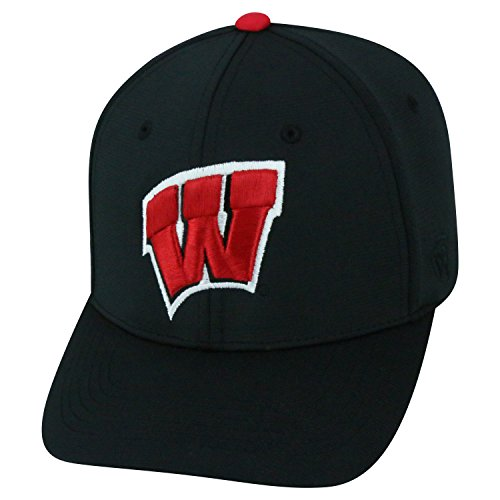 Wisconsin Badgers Official NCAA One Fit Impact Hat by Top of the World 058412