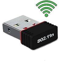 Terabyte 500Mbps Mini Wireless USB Adapter (Black)