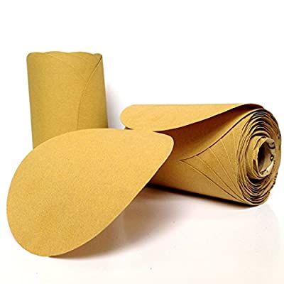 6 Inch X No Hole PSA Adhesive Sticky Back Sanding Disc Link Roll - Sandpaper Disk Roll