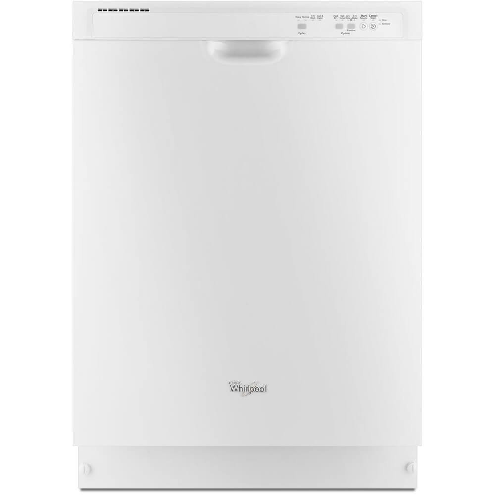 WHIRLPOOL GIDDS-284185 Built-In 24'' Dishwasher With Electronic Controls, White, 5 Cycles/4 Options