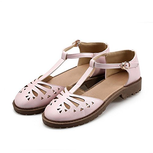Flats Women Cut Strap Gladiator CoolCept Classic Shoes Footwear Ankle Sandals Summer out Flats 2 Pink 8UcqwZ