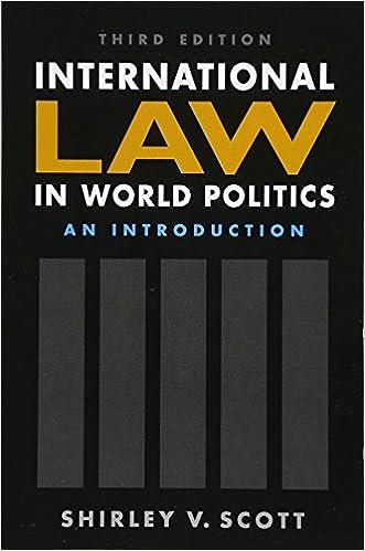 Amazon com: International Law in World Politics: An Introduction