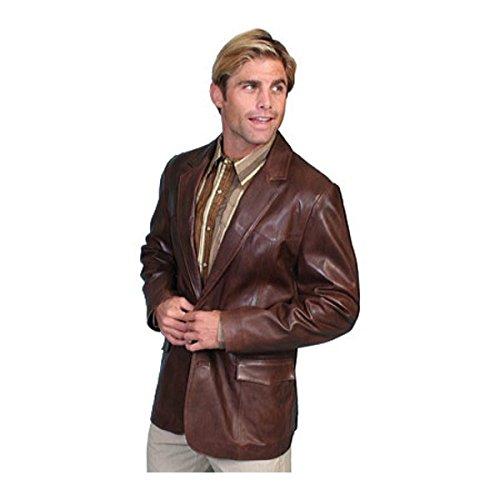 [スカーリー] メンズ ジャケット&ブルゾン Lambskin Blazer 501 [並行輸入品] B07DHMJRZ8 46