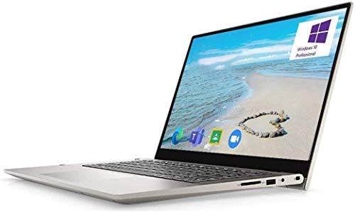 """Dell Inspiron 14 5000 2-in-1 Convertible Laptop Computer, 14"""" FHD Touchscreen, 11th Gen Intel 4-Core i7-1165G7, 16GB…"""