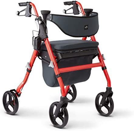 Medline Rollator Backrest Antimicrobial Protection