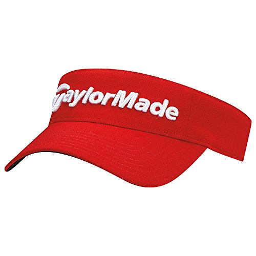 - TaylorMade Golf 2017 performance radar visor red
