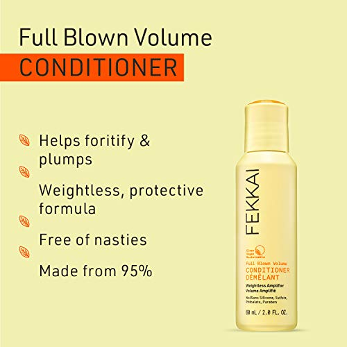 FEKKAI Full Blown Volume Conditioner, Weightless Amplifier, Volumizing, Instant Lift, Clean, Vegan, Sulfate Free, Travel Size (2 oz) 2