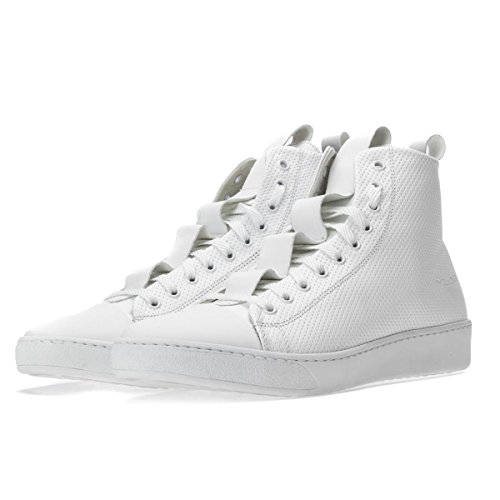 Alte Sneakers YLATI Pelle High Bianche Size Sorrento 42 pHAq8A