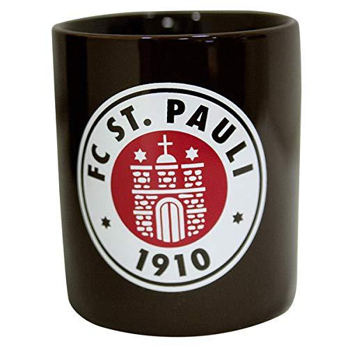 FC St Fanergy Traubenzucker Pauli 3er Set Kaffeebecher Becher Totenkopf Becher Logo Streifen Jumbobecher Logo FCSP