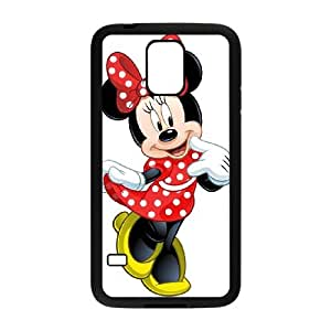 Samsung Galaxy S5 Cell Phone Case Black Disney Mickey Mouse Minnie Mouse ZYK
