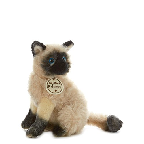 Hallmark My Best Friend Small Siamese Cat Plush Stuffed Animal