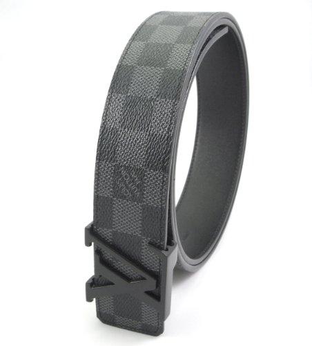damier-graphite-belt-grey-initials-buckle-30-34-inches
