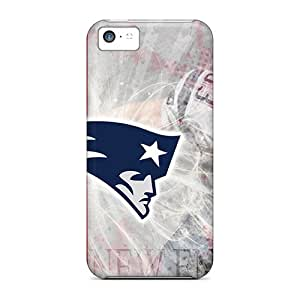 No1cases Iphone 5c Shock Absorbent Hard Phone Covers Custom Fashion New England Patriots Pattern [oCY14456Pahn]