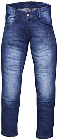 NORMAN Pantalones vaqueros de moto para hombre con forro protector de mezclilla (longitud de 30 pulgadas)